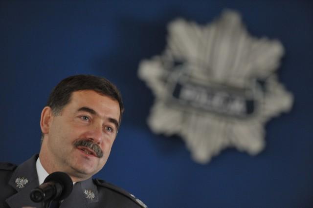 Nadinspektor Krzysztof Gajewski objął dzisiaj swoje stanowisko.
