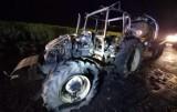Nocny pożar pod Stargardem. W Wierzchlądzie spłonął ciągnik. ZDJĘCIA