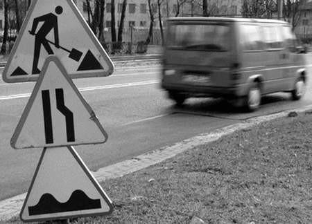 Na częstochowskich drogach trwają remonty.  foto: JACENTY DĘDEK