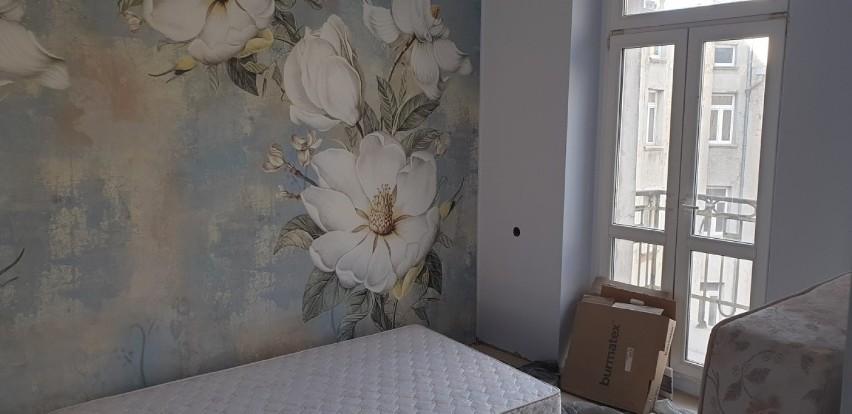 Część pokojów już wyremontowanych do standardu hotelowego...
