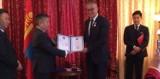 Poseł Marek Rząsa z Przemyśla odebrał mongolski Medal Przyjaźni