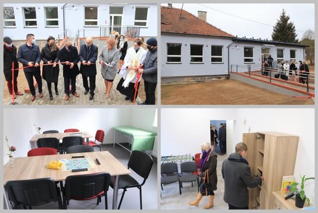 Otwarcie Dziennego Domu Pobytu Senior+ w Rachcinie, gmina Bobrowniki - 19 marca 2021 r.