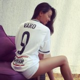 Legia zyskała nową WAG. Zobaczcie żonę Walerija Kazaiszwilego [ZDJĘCIA]