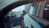 Uszkodzona autostrada A4 pod Chojnowem. Kilka aut ucierpiało. Droga zablokowana