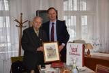 Sławno. Honorowy prezes kombatatów świętuje 90 urodziny ZDJĘCIA