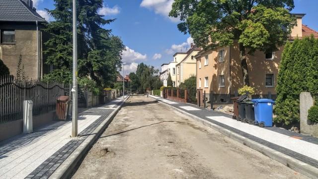 Opole. Postępuje remont ulic w dzielnicy generalskiej