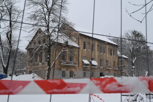 Trwa remont zabytkowego Pałacu w Baranowicach
