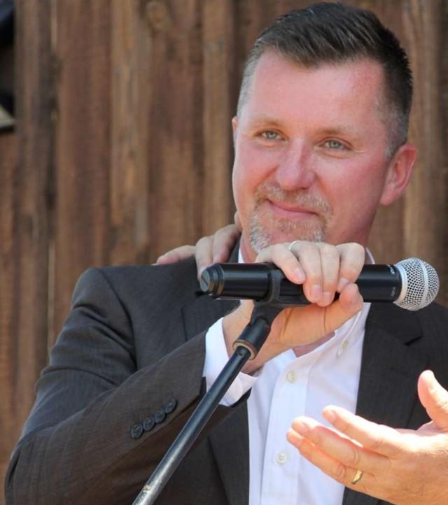Olaf Makiewicz, prezes zarządu spółki RTM Sp. z o. o., która zajmuje się prowadzeniem Olandii w Prusimiu.