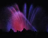 Tańcząca fontanna na PGE Arenie [ZDJĘCIA]