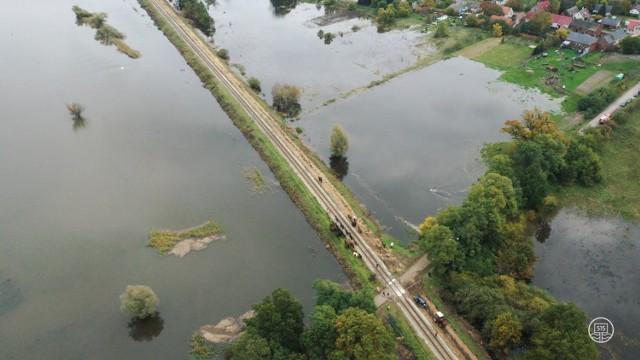 Stowarzyszenie 515 kilometr rzeki z Krosna Odrzańskie było obecne przy akcji ratunkowej koni w okolicach Połupina. Grupa monitoruje zmieniającą się sytuacją na Odrze w Krośnie Odrzańskim i okolicy.