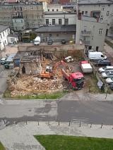 Rybnik. Wyburzenie w centrum miasta. Ruina zniknęła, co tutaj powstanie? Zobaczcie zdjęcia