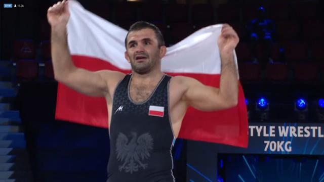 Magomedmurad Gadżijew z AKS Piotrków zapaśniczym mistrzem świata