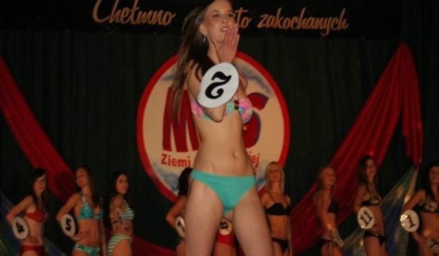 Wiktorię Wilmanowicz była jedną z chełmnianek, które doszły najdalej w konkursie miss.