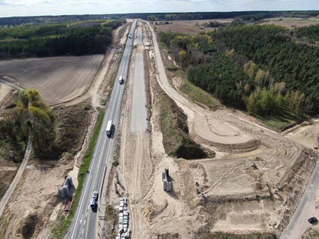 Zmiana organizacji ruchu na budowanej Drodze Ekspresowej S5 Nowe Marzy - Dworzysko nastąpi 12 października
