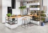 Funkcjonalna i estetyczna kuchnia z Leroy Merlin. Nowe modułowe meble kuchenne Delinia iD