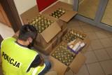 Kontrabanda przechwycona przez policjantów ze Zduńskiej Woli ZDJĘCIA