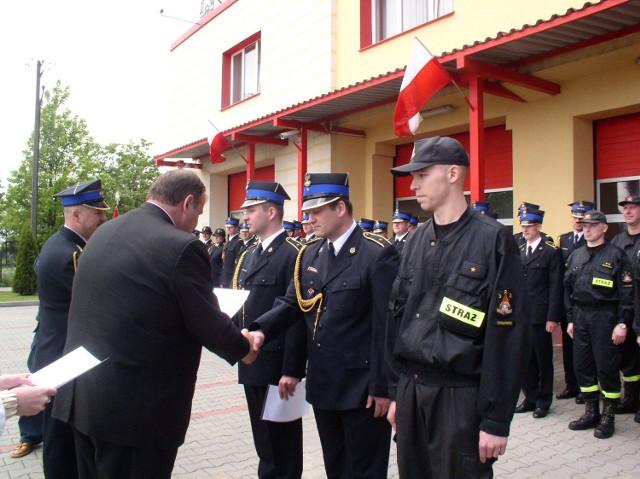 Do stopnia aspiranta awansowali: Błażej Chamier Cieminski, Krzysztof Suchacki i Mariusz Karkoszka