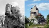 Zobacz, jak zmieniały się Bobolice. Zamek w latach 50. XX wieku był ruderą, teraz jest ozdobą Jury. Zobacz ZDJĘCIA