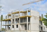 Budowa nowego bloku Staszica House w Radomiu. Widać postęp prac (ZDJĘCIA)