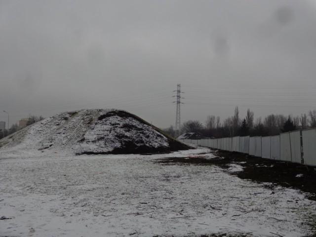 Górka przy ul. Drewnowskiej jeszcze jest. W jej pobliżu powstanie jednak komora rozgałęźna łódzkiego tunelu średnicowego.