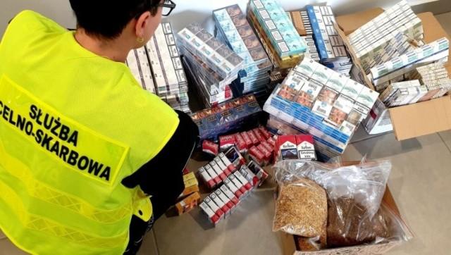 Na targowisku w Gdańsku znaleziono nielegalny tytoń wart ponad 20 tys. zł!
