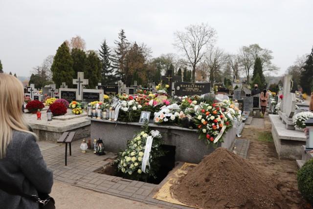Radziejów - pogrzeb Piotra Kapelińskiego