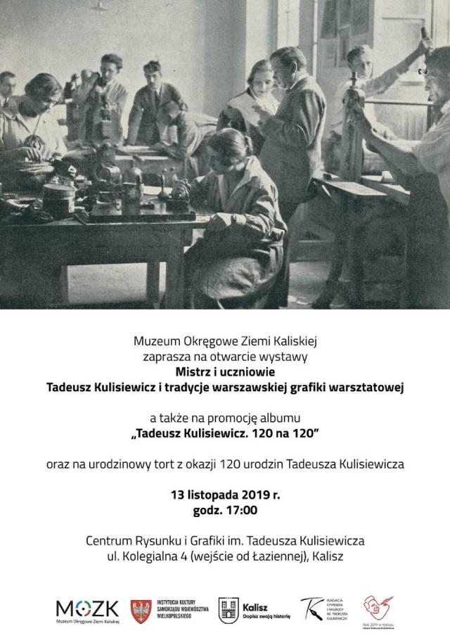 Wystawa, publikacja i tort na 120 urodziny Tadeusza Kulisiewicza