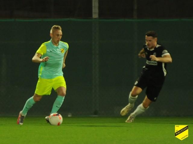 Sparingowy mecz Dubai City FC - Wieczysta Kraków (2:3)