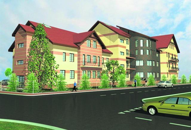 Tak będzie wyglądało Regionalne Centrum Rehabilitacji i Pomocy Społecznej w Borzęcinie