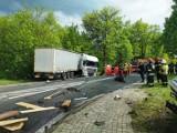 Wypadek na krzyżówkach gielniowskich: Ofiary śmiertelne to mieszkańcy powiatu opoczyńskiego [FOTO]