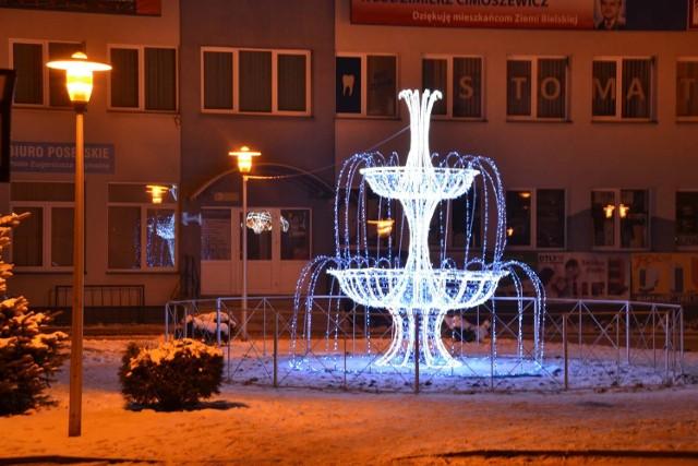Bielsk Podlaski był jednym z najpiękniej rozświetlonych miast w kraju