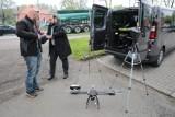 Policyjne testy drona w Katowicach [ZDJĘCIA]