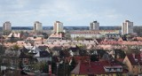 Luxpol w Stargardzie. Zdjęcia z dachu. Widok na całe miasto z wysokości 22 metrów