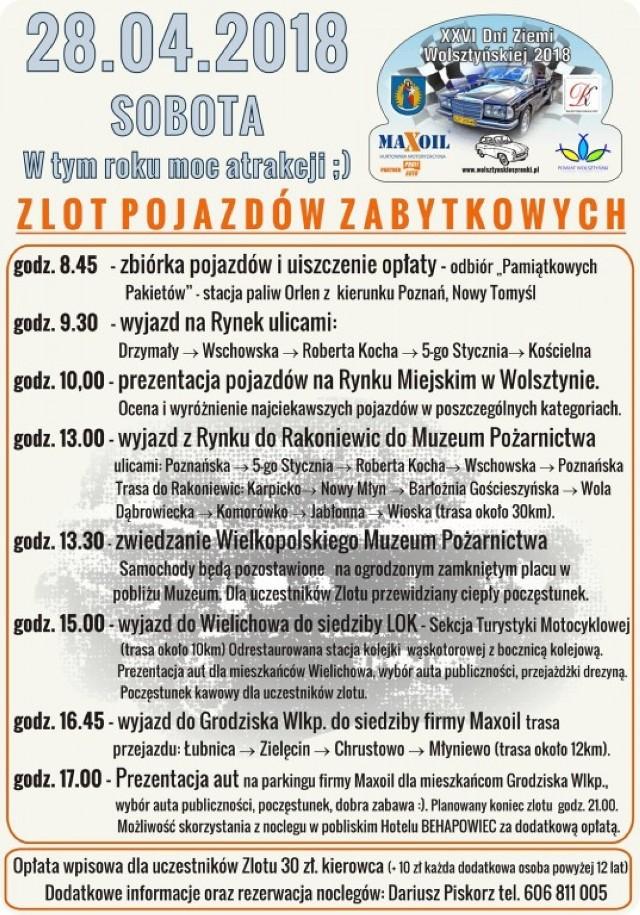Zlot zabytkowych pojazdów w Wolsztynie już 28 kwietnia!