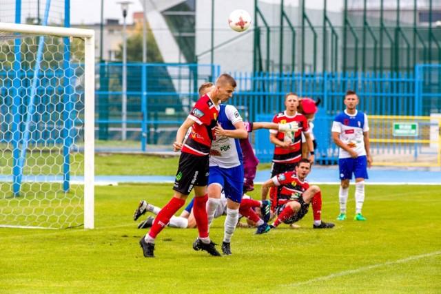 Huragan Morąg dzielnie walczy na trzech frontach: w 3 lidze, centralnym i okręgowym szczeblu Pucharu Polski