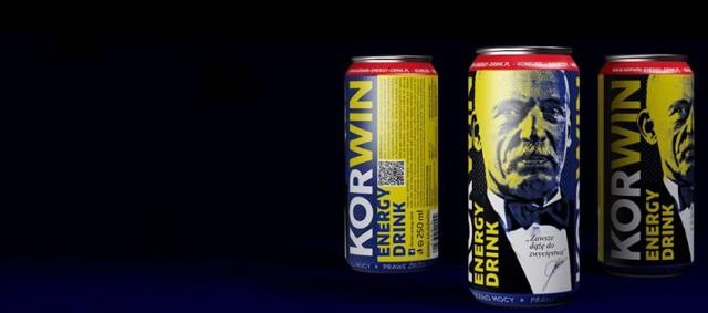 Korwin Energy Drink: Napój, który doda ci dwóch prawych skrzydeł.