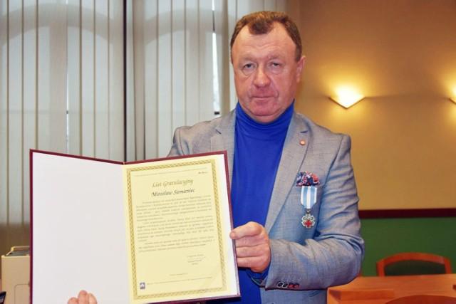 Honorowi Dawcy Krwi w Legnicy, wręczenie podziękowań.
