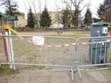 Zamknięte obiekty sportowe i plac zabaw na terenie OSiRu w Ustce [ZDJĘCIA]