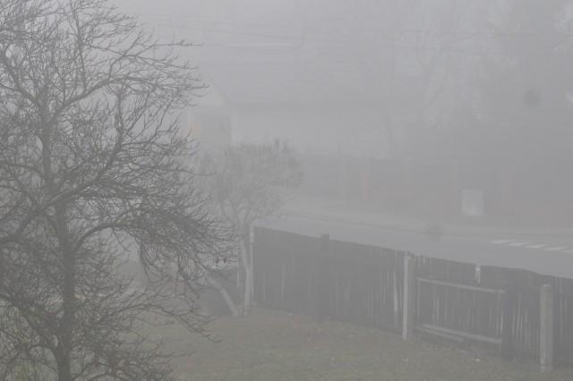 W sobotę, 24 listopada, od samego rana na drogach są gęste mgły. Kierowcy powinni zachować szczególną ostrożność.