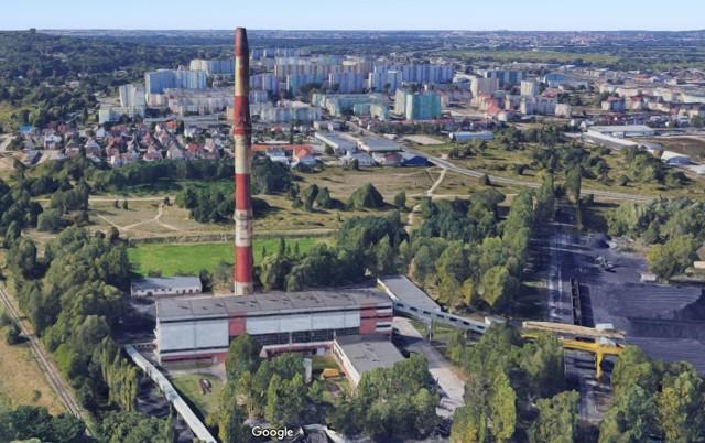 """Ciepłownia """"Dąbska"""" w Szczecinie"""
