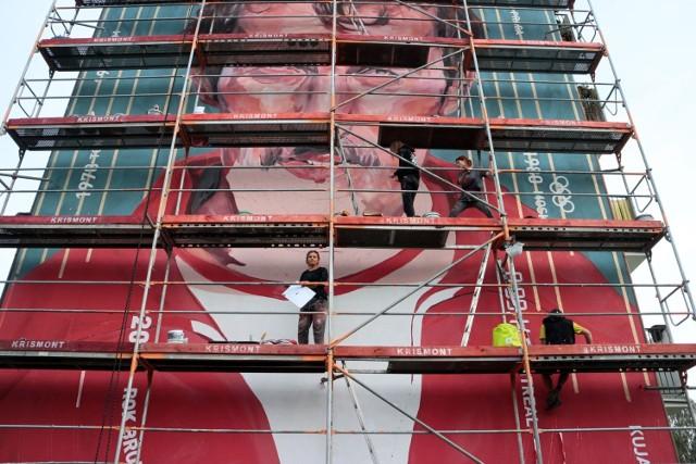 Na dawnym domu Bronisława Malinowskiego, przy ul. Korczaka 9 w Grudziądzu powstał mural - portret olimpijczyka. Odsłonięty zostanie w sobotę o g. 17.15