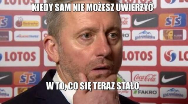 Jerzy Brzęczek już nie jest trenerem reprezentacji Polski. Zostały memy. Zobacz je na kolejnych slajdach galerii