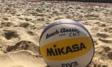 """Plażowy Turniej Piłki Siatkowej na basenach """"NEMO"""" w Pustkowie-Osiedlu. Trwają zapisy"""