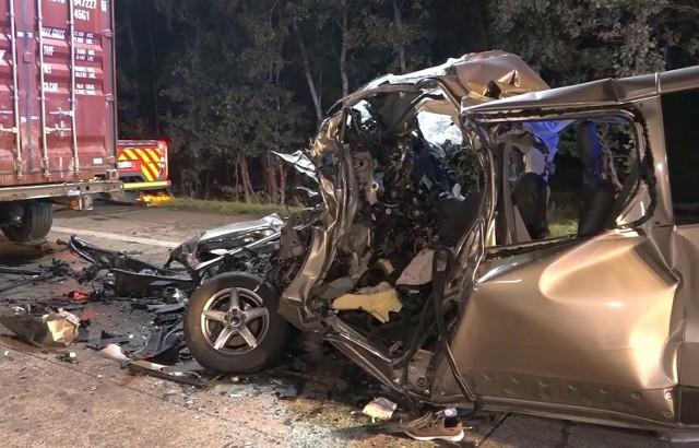 Wypadek polskiego busa na autostradzie A1 w Niemczech. Jest pięć ofiar śmiertelnych