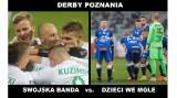 Warta przed derbami Poznania jest wyżej w tabeli od Lecha. Zobacz memy przed meczem