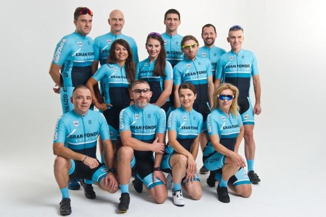 Amabasadorzy kolarskiego wyścigu Gran Fondo Gdynia 2019