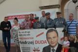 Zamość: ostatnie akcenty kampanii wyborczej prezydenta Andrzeja Dudy. Spotkanie z mieszkańcami na Rynku Wielkim [Zdjęcia]