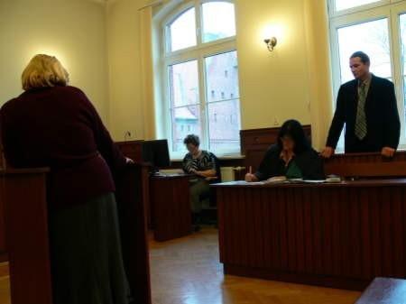 Kluczowe dla wyniku procesu Jaromira Szroedera mogą być zeznania Barbary Smentek. Fot. Marcin Pacyno