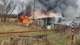 Zaprószenie ognia – to prawdopodobna przyczyna pożaru w Miastku. Straty wyniosły 30 tys. zł