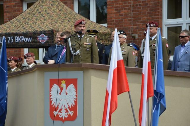 Płk Piotr Gołos dowodzi 25. Brygadą Kawalerii Powietrznej w Tomaszowie od 1 lipca 2020 roku
